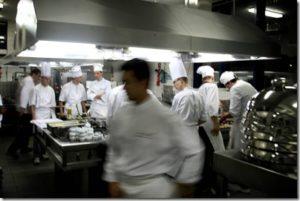 atelier de cuisine professionnelle