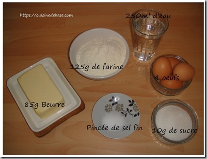 Ingredients-pate-a-choux