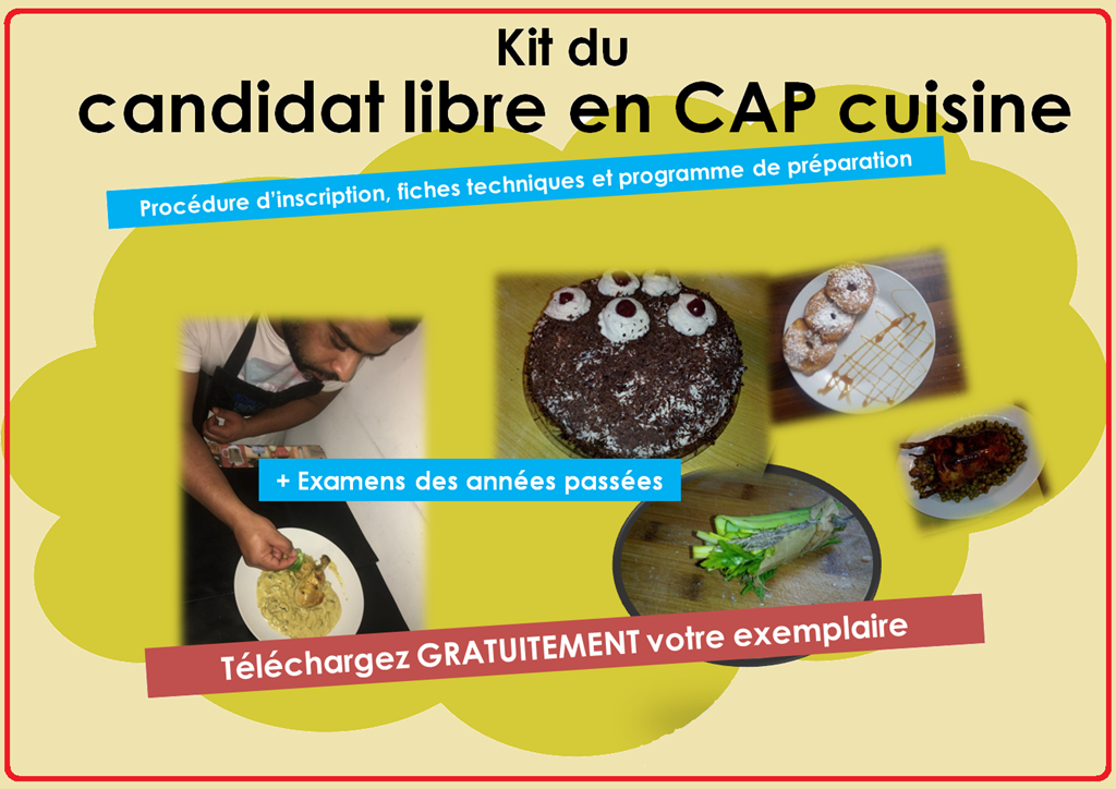 Kit Du Candidat Libre En Cap Cuisine